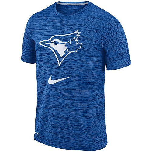 Men's Nike Royal Toronto Blue Jays Velocity Performance T-Shirt