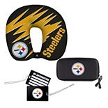 The Northwest Company Pittsburgh Steelers Four-Piece Travel Set