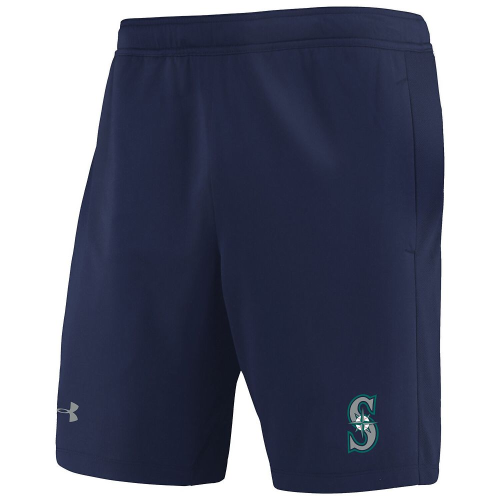 Men's Under Armour Navy Seattle Mariners MK-1 Performance Shorts