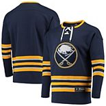 Men's Fanatics Branded Navy Buffalo Sabres Franchise Pullover Sweatshirt