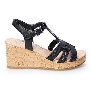 SO® Sheila Girls' Wedge Sandals