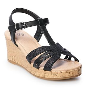 SO® Sheila Girls' Wedge Sandals