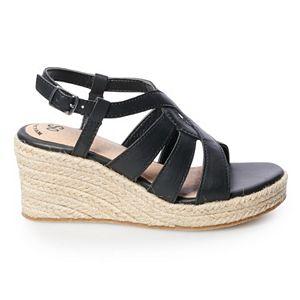 SO® Sandstorm Girls' Wedge Sandals