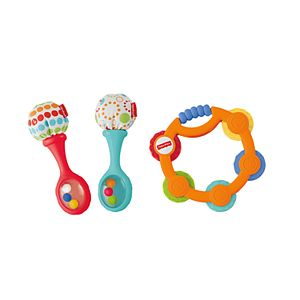 Fisher-Price® Tambourine & Maracas Gift Set