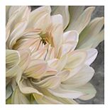 Fine Art Canvas 'Whispering in Gold' Canvas Wall Art