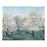 Fine Art Canvas 'Flowering Trees' Canvas Wall Art