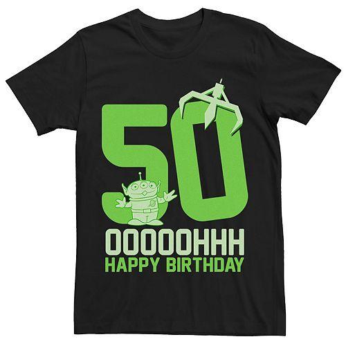 Disney / Pixar's Toy Story Men's Aliens OOOOH Happy 50th
