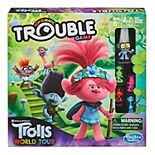 Hasbro Trouble: DreamWorks Trolls World Tour Edition