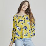 Women's Elizabeth and James Bell-Sleeve Blouse