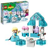 Disney's Frozen 2 Toys Featuring Elsa and Olaf's Tea Party 10920 LEGO Set by LEGO DUPLO