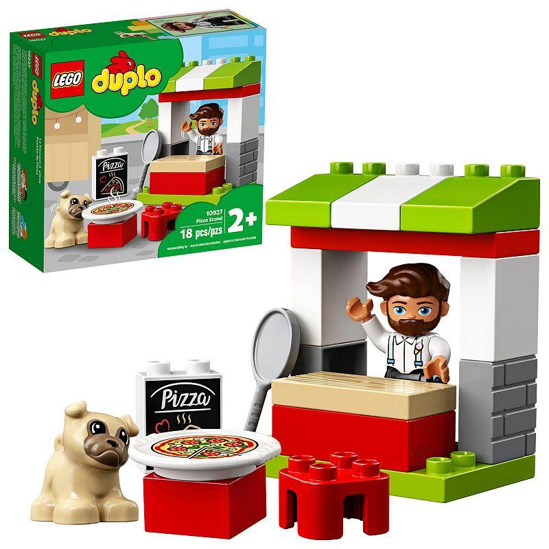 LEGO DUPLO Town Pizza Stand Fun Developmental Toddler Toy 10927