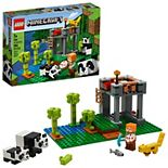 LEGO Minecraft The Panda Nursery 21158 Toy Character Building Kit