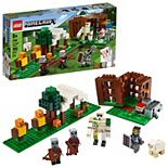 LEGO Minecraft The Pillager Outpost 21159 Building Kit for Kids