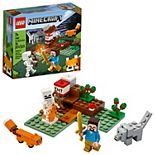 LEGO Minecraft The Taiga Adventure 21162 Cool Building Kit for Kids