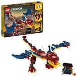 LEGO Creator 3in1 Fire Dragon 31102 Building Kit
