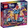 DreamWorks Trolls World Tour Volcano Rock City Concert (41254) Building Kit by LEGO
