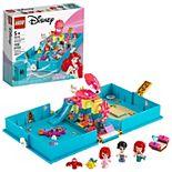 Disney's Little Mermaid Ariel's Storybook Adventures 43176 Creative Building Kit by LEGO