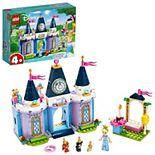 Disney's Cinderella Cinderella's Castle Celebration 43178 Building Kit by LEGO