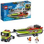 LEGO City Race Boat Transporter 60254 Building Set