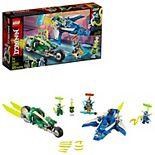 LEGO NINJAGO Jay and Lloyd's Velocity Racers 71709 Building Kit