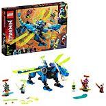 LEGO NINJAGO Jay's Cyber Dragon 71711 Building Kit