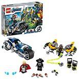 LEGO Marvel Avengers Speeder Bike Attack 76142 Building Kit