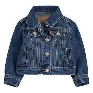 Baby Girl Levi's® Denim Trucker Jacket