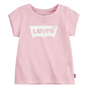 Baby Girl Levi's Short Sleeve Batwing Graphic T-Shirt