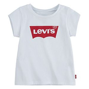 Baby Girl Levi's® Short Sleeve Batwing Graphic T-Shirt