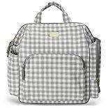Skip Hop Frame-Up Gingham Diaper Backpack
