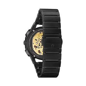 Bulova Men's CURV Gunmetal Stainless Steel Chronograph Watch - 98A207
