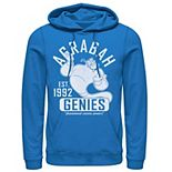 Men's Disney Aladdin Genie Collegiate Sports Pullover Hoodie
