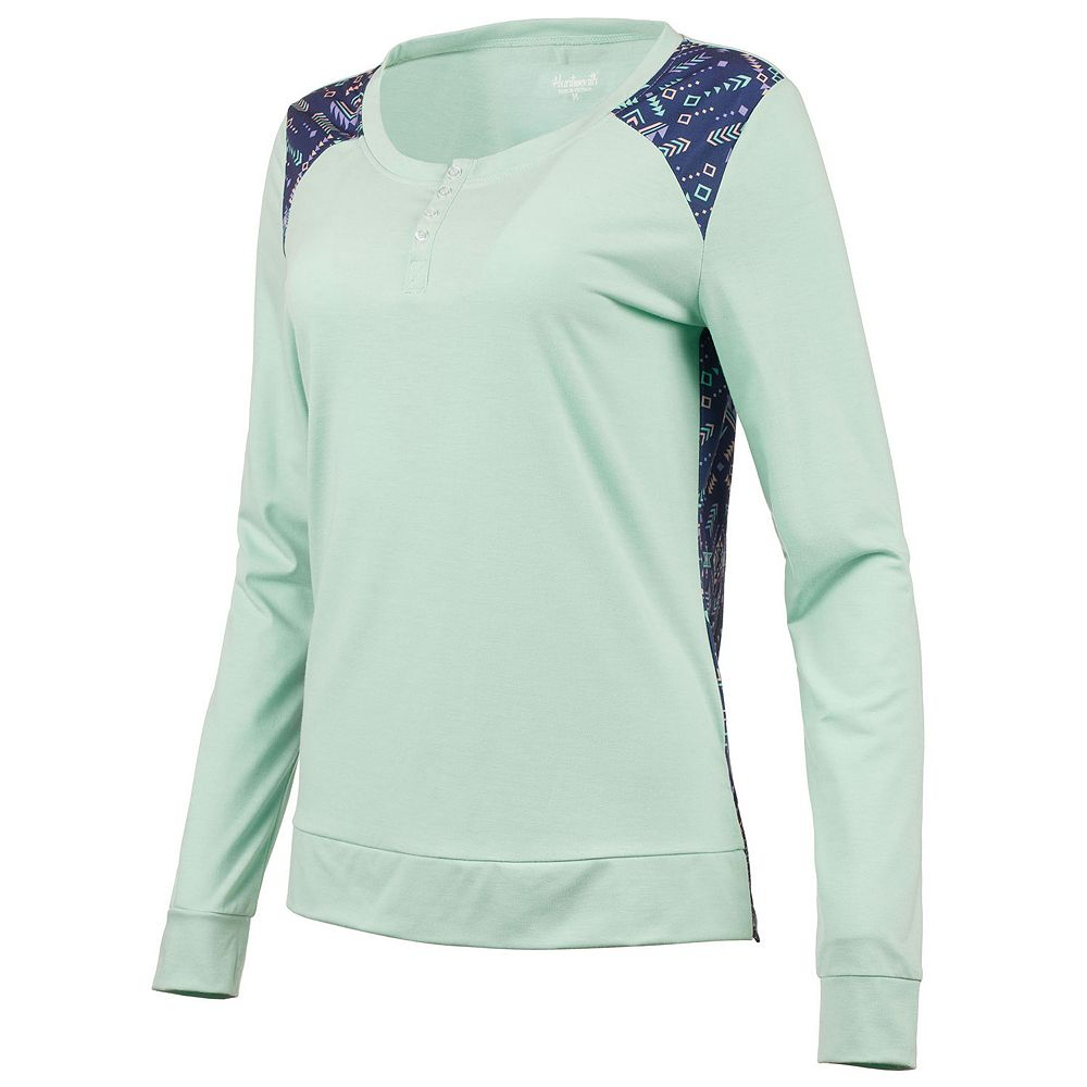 Women's Huntworth Ladies Lightweight Henley Shirt