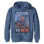 Boys 8-20 Marvel Spider-Man 'Tis The Season To Be Amazing Graphic Hoodie