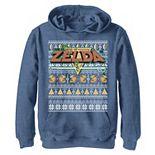 Boys 8-20 Nintendo Zelda 8-Bit Ugly Holiday Sweater Graphic Hoodie