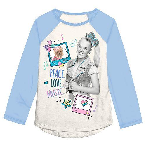 Girls 4-12 Jumping Beans® JoJo Siwa Peace Love Music Shirt