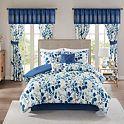 Madison Park Gabby 6-Piece Comforter Set with Coordinating Pillows