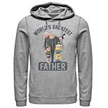 Men's Despicable Me Minions Greatest Father Pullover Hoodie