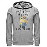 Men's Despicable Me Minions Stuart's Eye On You Pullover Hoodie