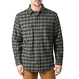 Men's Walls Wagu Plaid Heavyweight Brushed Flannel Work Shirt