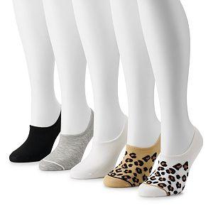 Women's Madden Girl 5-pack Sneaker Socks