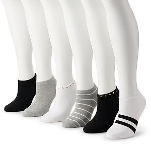 Women's Madden Girl 6-pack Low Cut Socks