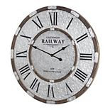 E2 Concepts Caledonian Railway Glasgow Oversized Clock