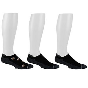 Men's Dr. Motion 3-pack Compression Low-Cut Socks