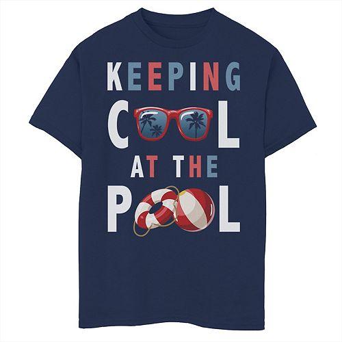 Marvel Deadpool Splatter Icon Boys Graphic T Shirt