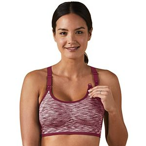 Maternity Bravado Designs Body Silk Seamless Rhythm Nursing Bra 11007BA