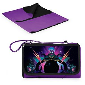 Disney's The Little Mermaid Ursula Outdoor Picnic Blanket Tote by Picnic Time