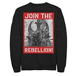 Men's Star Wars Rogue One Join the Rebellion Poster Pullover Hoodie