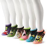 Juniors' Spongebob Squarepants 6-pack Socks
