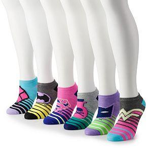 Juniors' DC Comics 6-pack Ankle Socks
